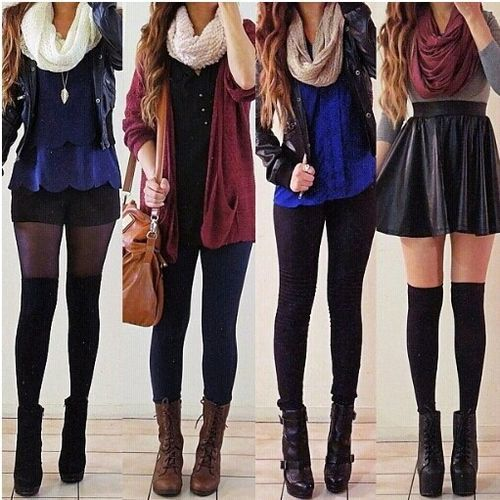 Winter Autumn Simple But Fab Outfits